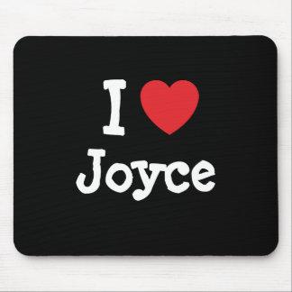 I love Joyce heart T-Shirt Mouse Pad