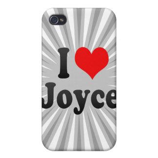 I love Joyce iPhone 4/4S Covers