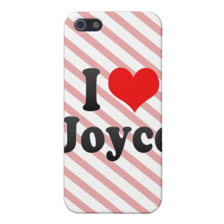 I love Joyce iPhone 5 Cases