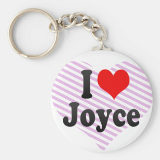 I love Joyce Keychain