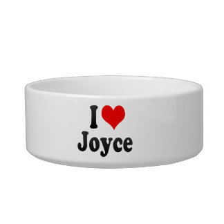 I love Joyce Pet Water Bowl