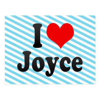 I love Joyce Postcard
