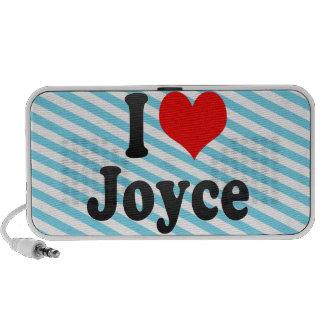 I love Joyce iPhone Speaker