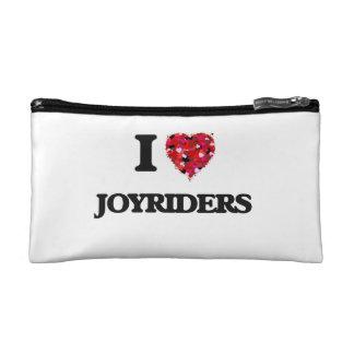I Love Joyriders Makeup Bags