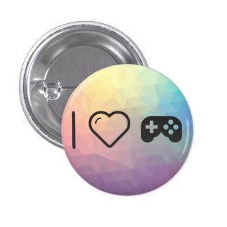 I Love Joysticks 1 Inch Round Button