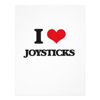 I Love Joysticks Flyer