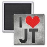 I Love JT Magnets