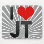 I Love JT Mouse Pad