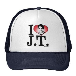 I LOVE JT -.png Trucker Hat