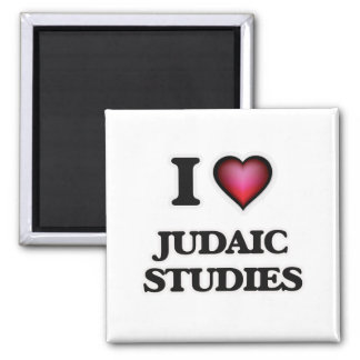I Love Judaic Studies Magnet