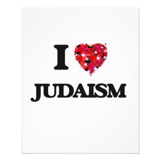"I Love Judaism 4.5"" X 5.6"" Flyer"