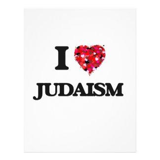 "I Love Judaism 8.5"" X 11"" Flyer"