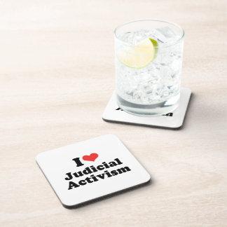 I LOVE JUDICIAL ACTIVISM - .png Coaster