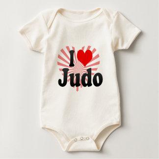 I love Judo Baby Bodysuit
