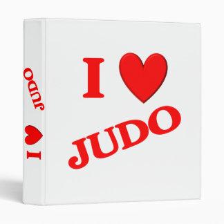 I Love Judo Binders