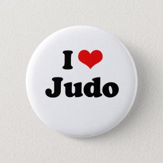 I Love Judo Tshirt Pinback Button
