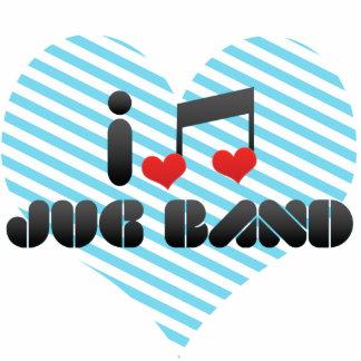 I Love Jug Band Photo Sculptures