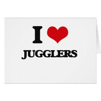 I love Jugglers Cards