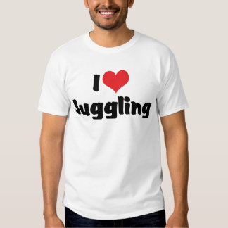 I Love Juggling Tee Shirts