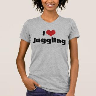 I Love Juggling T-shirts