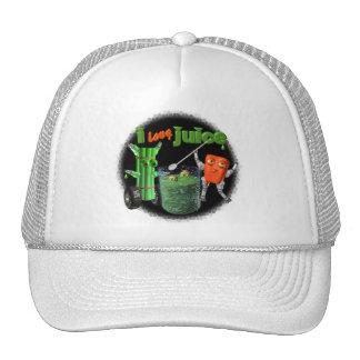 I Love Juice celery & pepper template 100+ items Trucker Hats