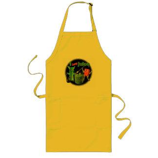 I Love Juice celery & pepper template 100+ items Long Apron