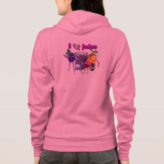I Love Juice designs on shirts & jackets