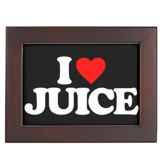 I LOVE JUICE MEMORY BOXES