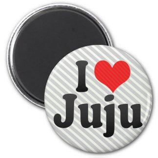 I Love Juju Magnet