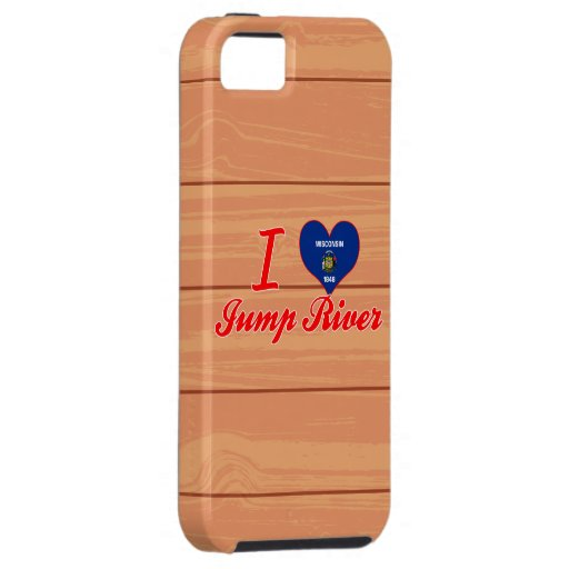 I Love Jump River, Wisconsin iPhone 5 Cover