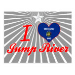 I Love Jump River, Wisconsin Postcards