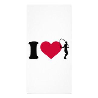 I love Jump rope Card