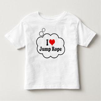 I love Jump Rope Toddler T-shirt