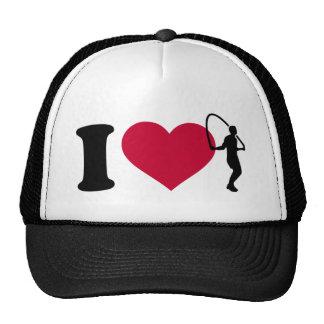 I love Jump rope Trucker Hat