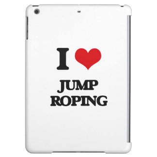 I Love Jump Roping Cover For iPad Air