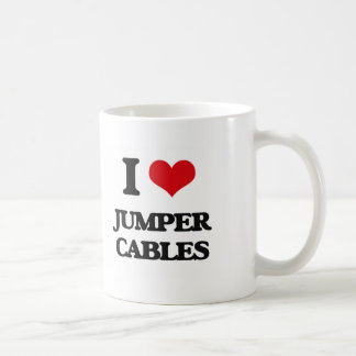 I Love Jumper Cables Coffee Mug