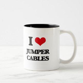 I Love Jumper Cables Mugs