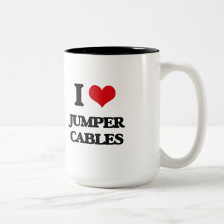I Love Jumper Cables Mug