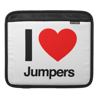 i love jumpers sleeve for iPads