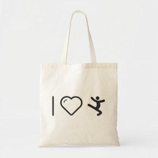 I Love Jumpings Tote Bag