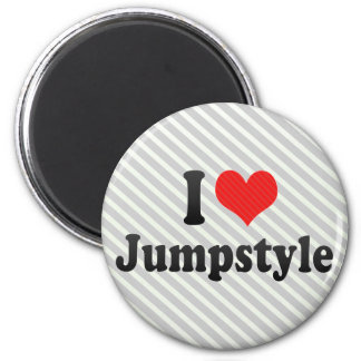 I Love Jumpstyle Magnets