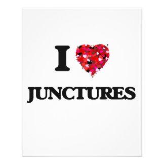 """I Love Junctures 4.5"""" X 5.6"""" Flyer"""