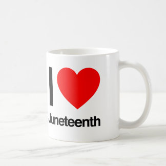 i love juneteenth coffee mug