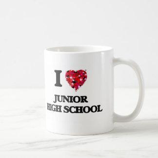 I Love Junior High School Classic White Coffee Mug
