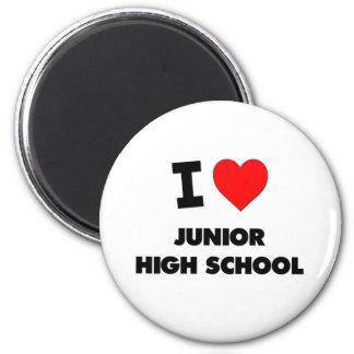 I Love Junior High School Fridge Magnets
