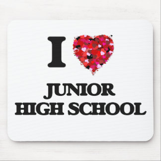 I Love Junior High School Mouse Pad