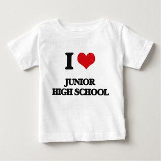 I Love Junior High School T-shirts