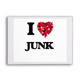 I Love Junk Envelope
