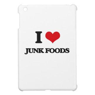 I Love Junk Foods iPad Mini Cover