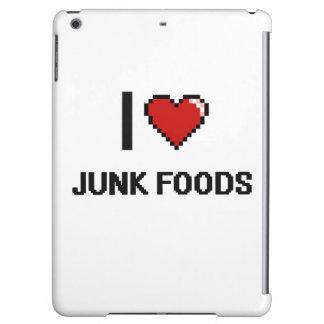 I Love Junk Foods iPad Air Cover
